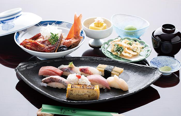 寿司中心コース